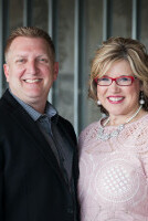 Pastors Ernest and Sharon Fridge - Lead Pastors of Conroe First Assembly of God